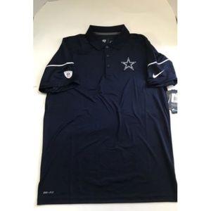 f8f1ee7dc nile Shirts - NFL On Field Dallas Cowboys NIKE Dri-Fit Elite